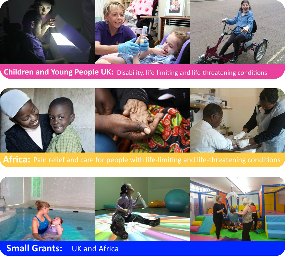 The True Colours Trust - Images from our work with children and young people in the UK, in Africa and our small grants programme