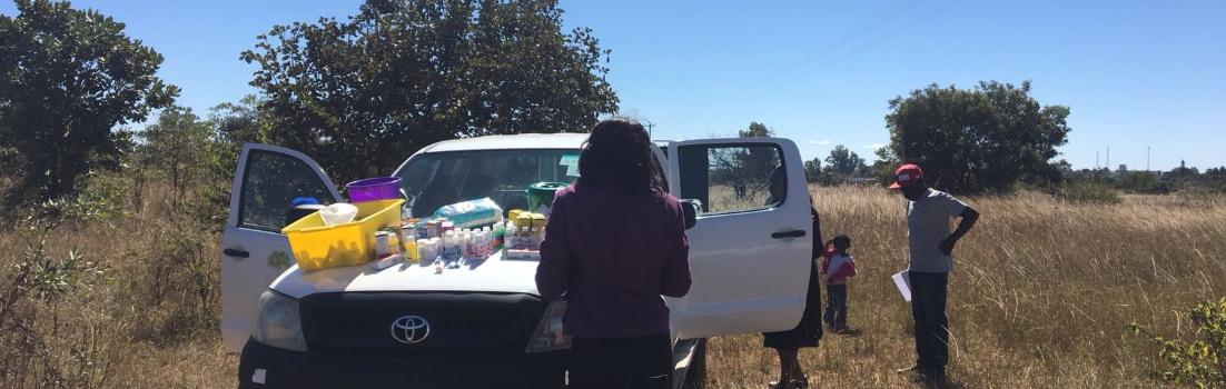 Delivering palliative care medicine supplies in Zimbabwe